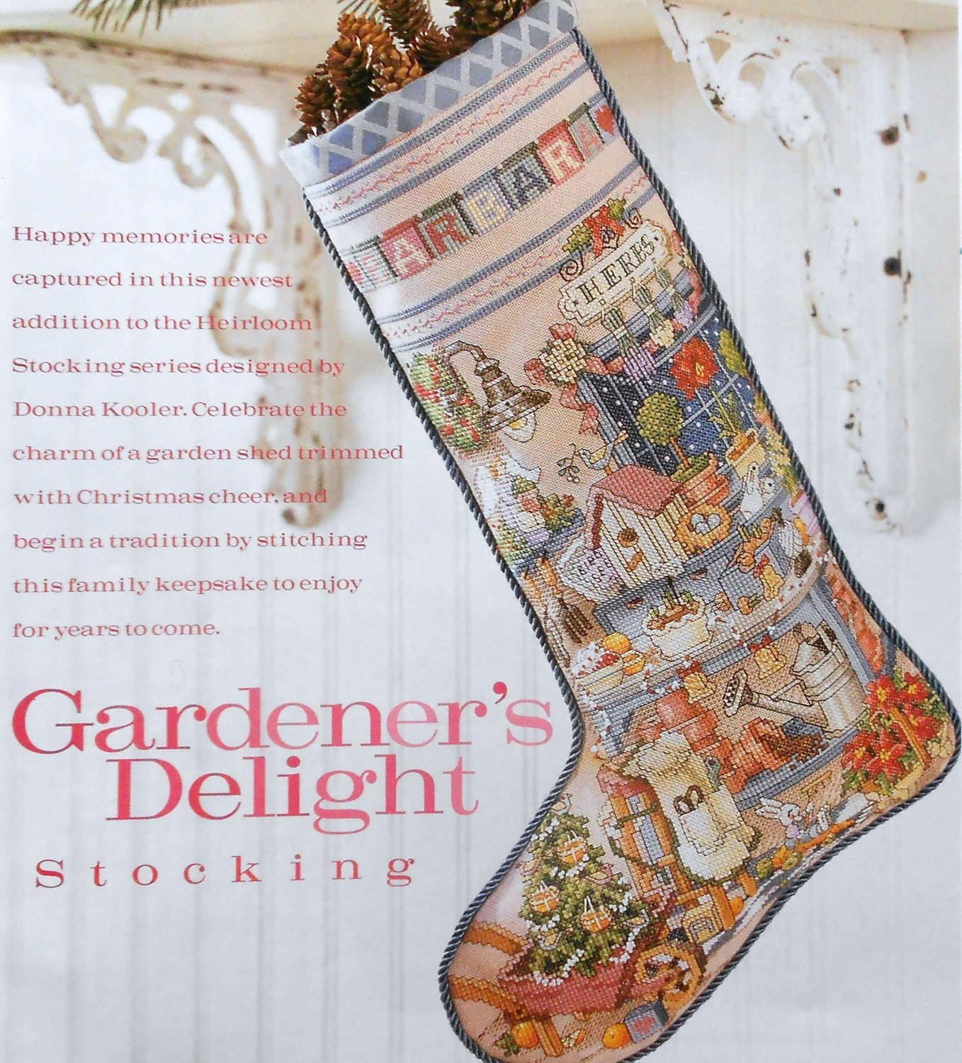 Cross Stitch Christmas Stocking Fresh Donna Kooler Gardener S Delight Heirloom Christmas Of New 46 Photos Cross Stitch Christmas Stocking