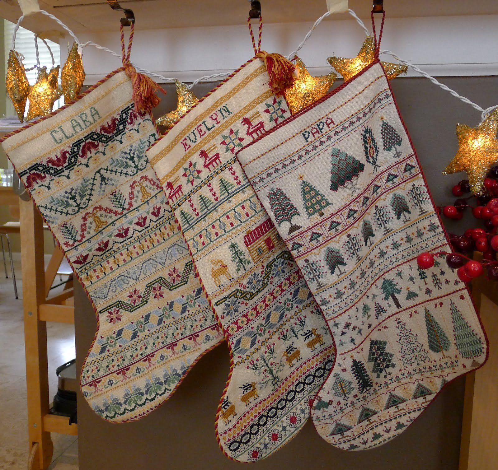 Cross Stitch Christmas Stocking Inspirational Palace Of Leaves Three Cross Stitched Christmas Stockings Of New 46 Photos Cross Stitch Christmas Stocking