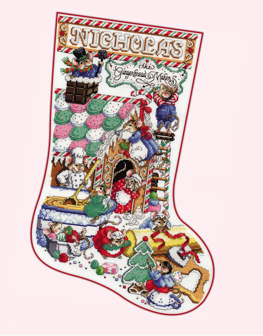 Cross Stitch Christmas Stocking Lovely Counted Cross Stitch Christmas Stockings Album Of New 46 Photos Cross Stitch Christmas Stocking