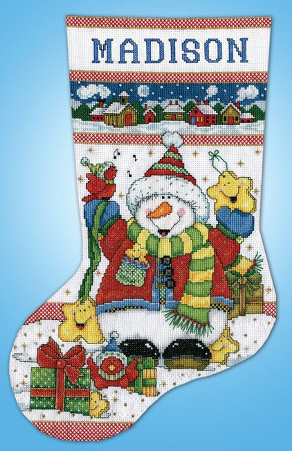 Cross Stitch Christmas Stocking Lovely Design Works Snowman Fun Christmas Stocking Counted Of New 46 Photos Cross Stitch Christmas Stocking