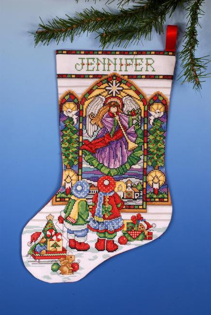 Cross Stitch Christmas Stocking Lovely Design Works Stained Glass Christmas Stocking Counted Of New 46 Photos Cross Stitch Christmas Stocking