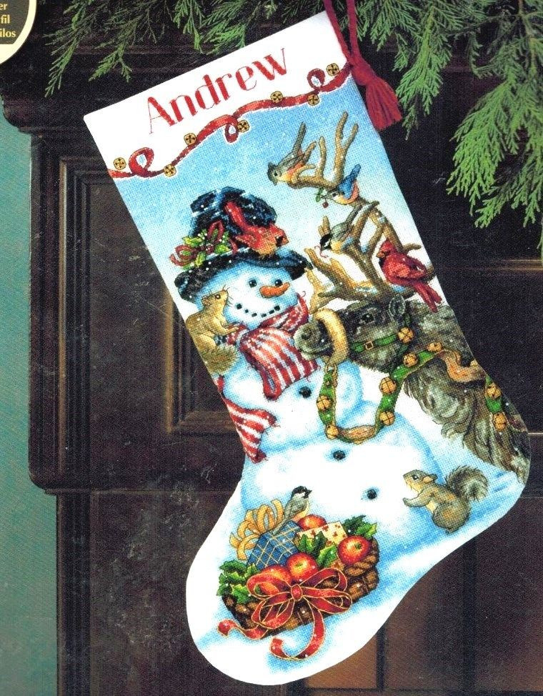 Cross Stitch Christmas Stocking New Dimensions Counted Cross Stitch Kit Christmas Snowmen Of New 46 Photos Cross Stitch Christmas Stocking