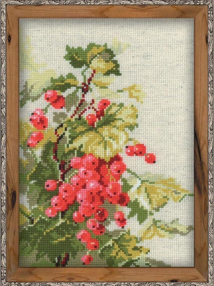 Cross Stitch Kits for Beginners Beautiful Counted Cross Stitch Kit Riolis Red Currant Of Gorgeous 45 Models Cross Stitch Kits for Beginners