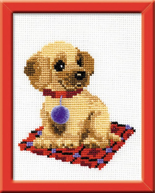 Cross Stitch Kits for Beginners Beautiful Riolis Cross Stitch Kit Puppy Suitable for Kids or Of Gorgeous 45 Models Cross Stitch Kits for Beginners