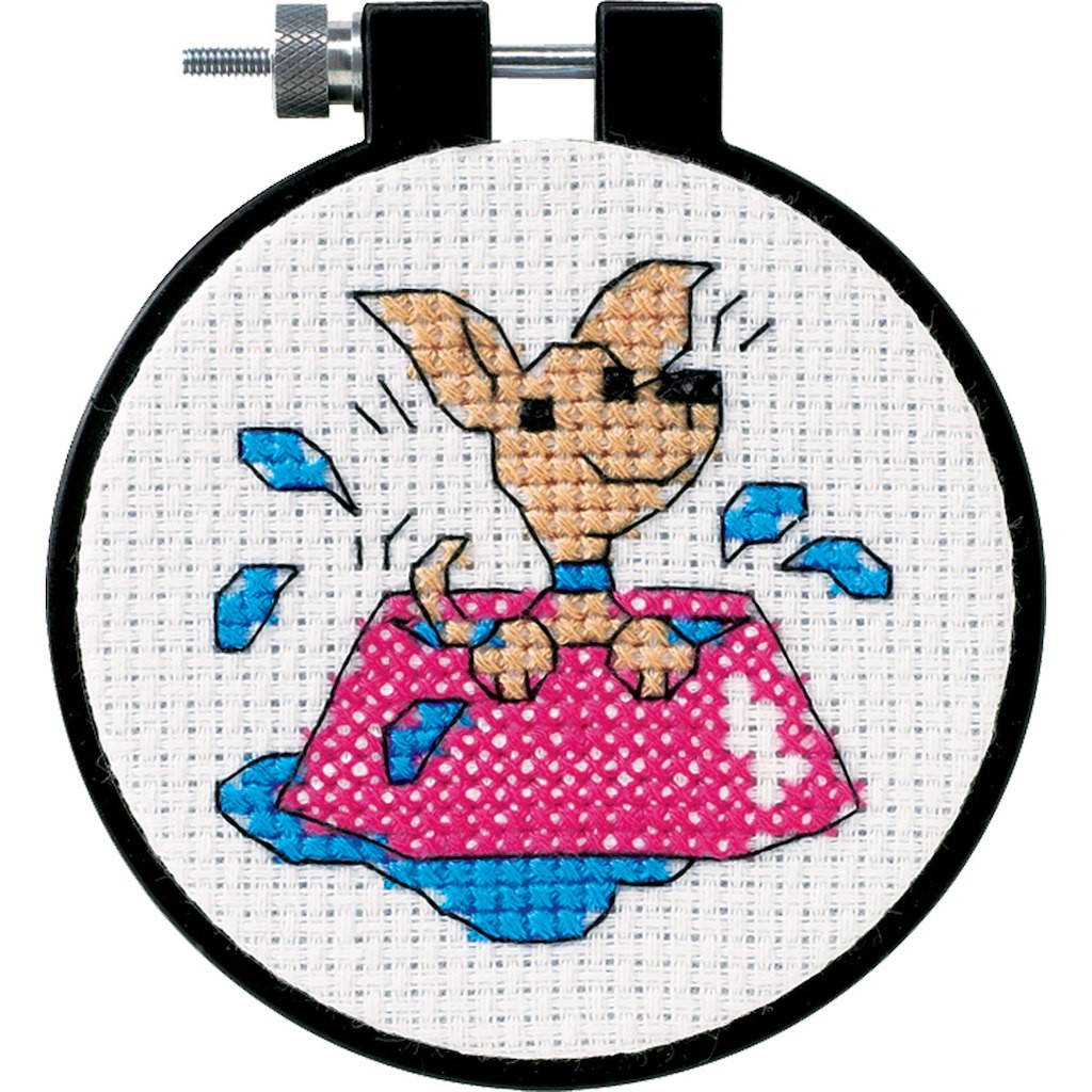Cross Stitch Kits for Beginners Fresh Dimensions Counted Cross Stitch Kit Perky Puppy Of Gorgeous 45 Models Cross Stitch Kits for Beginners