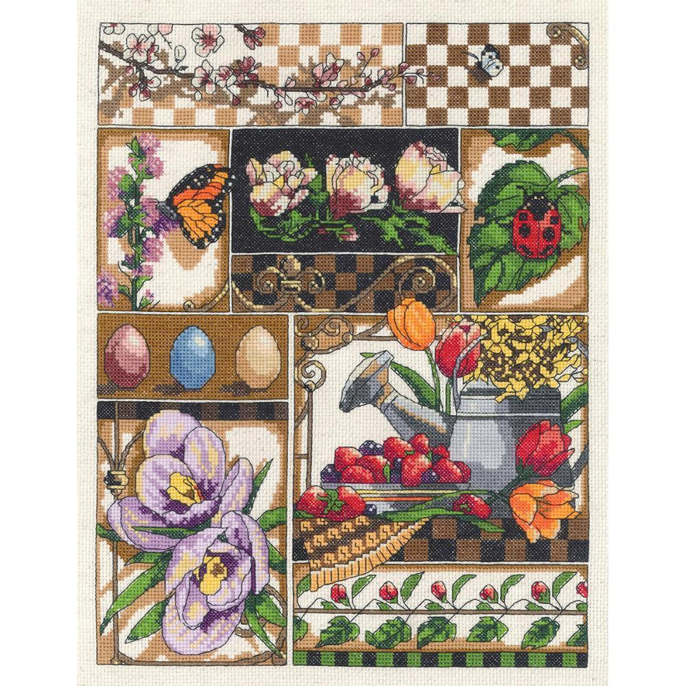 Cross Stitch Kits for Beginners Luxury Janlynn Spring Montage Counted Cross Stitch Kit New Of Gorgeous 45 Models Cross Stitch Kits for Beginners