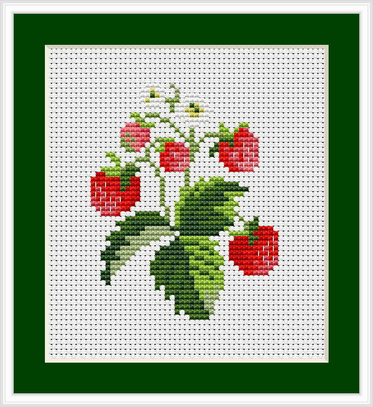 Cross Stitch Kits for Beginners Luxury Strawberries Cross Stitch Kit Luca S Beginner 7cm X Of Gorgeous 45 Models Cross Stitch Kits for Beginners