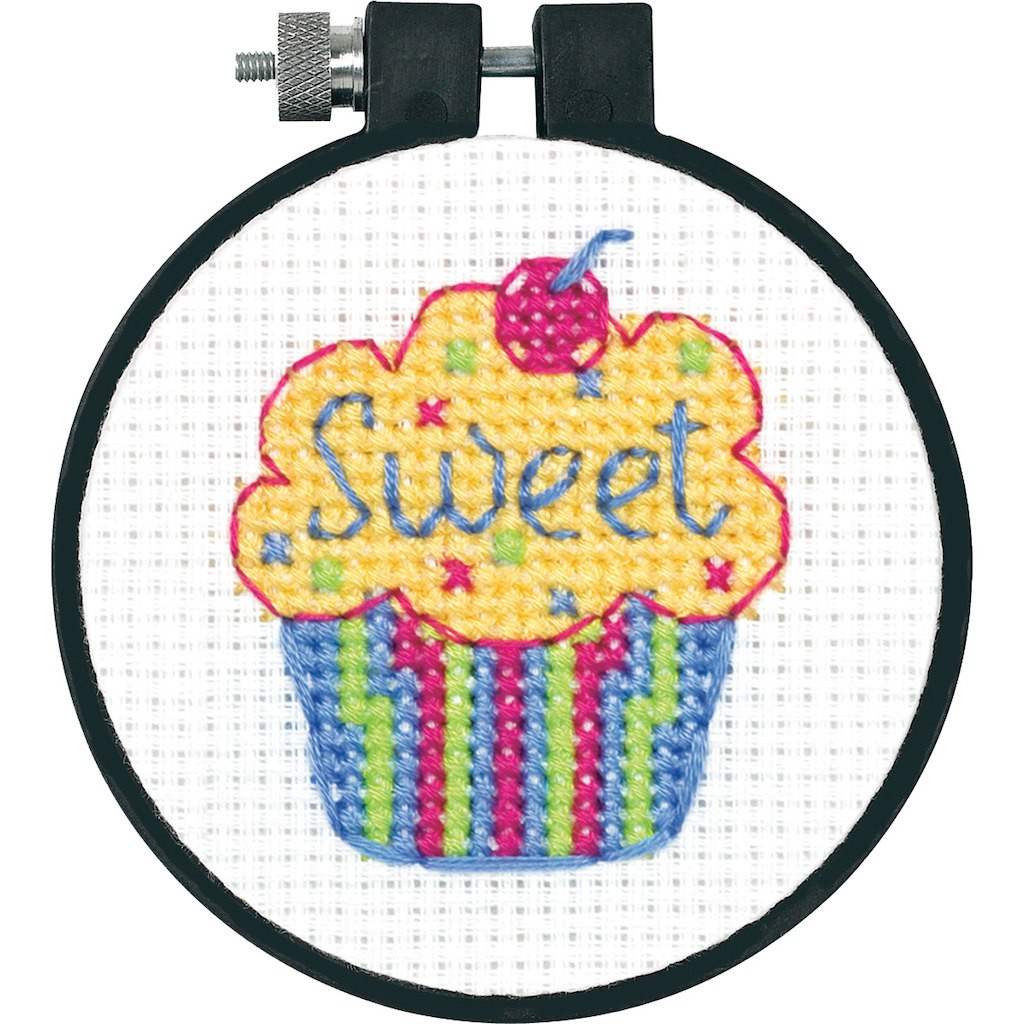 Cross Stitch Kits for Beginners Unique Dimensions Counted Cross Stitch Kit Cupcake Of Gorgeous 45 Models Cross Stitch Kits for Beginners
