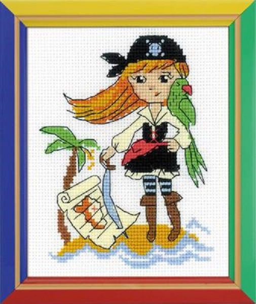 Cross Stitch Kits for Beginners Unique Riolis Cross Stitch Kit Treasure island Suitable for Kids Of Gorgeous 45 Models Cross Stitch Kits for Beginners