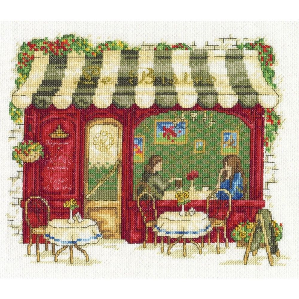 Cross Stitch Kits Inspirational Dmc Vintage Collection Counted Cross Stitch Kit Le Bistro Of Marvelous 49 Images Cross Stitch Kits