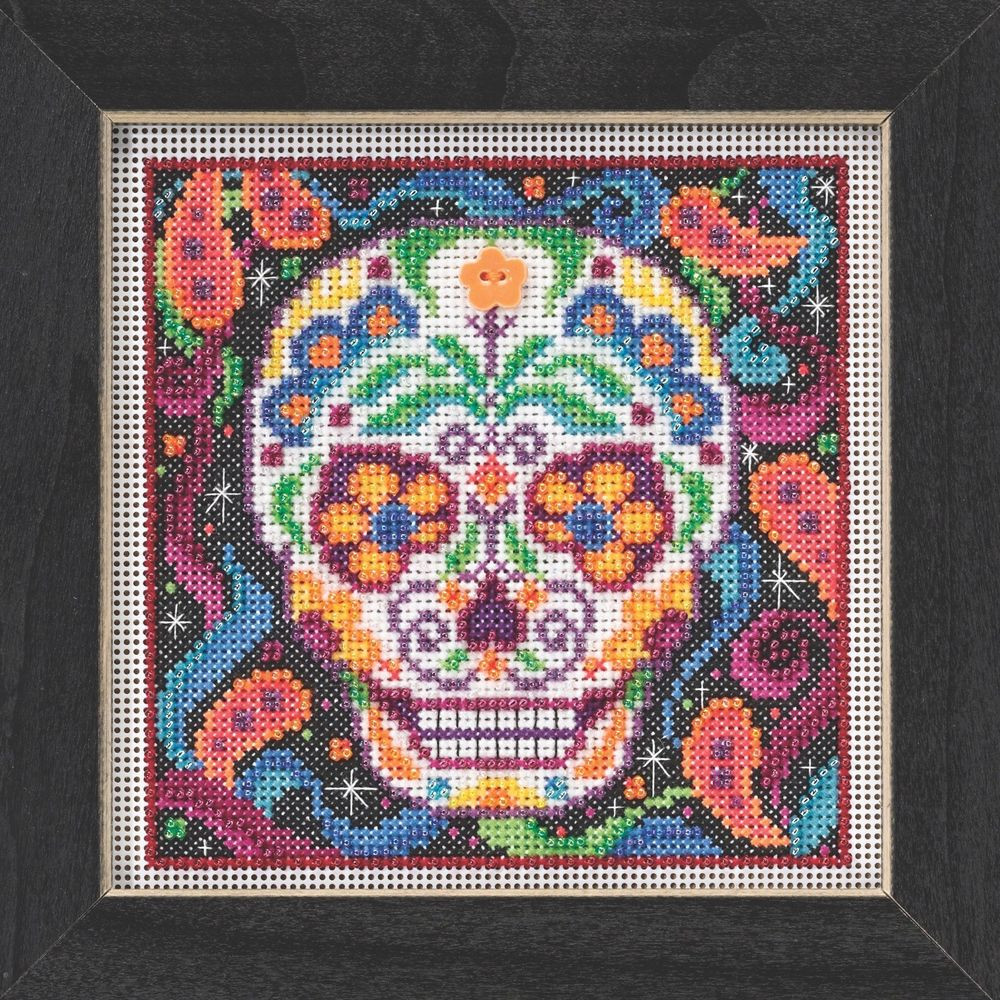 Cross Stitch Kits Inspirational Sugar Skull Beaded Kit Mill Hill 2015 buttons & Beads Of Marvelous 49 Images Cross Stitch Kits