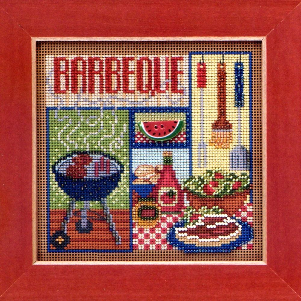 Cross Stitch Kits Luxury Barbeque Cross Stitch Kit Mill Hill 2013 buttons & Beads Of Marvelous 49 Images Cross Stitch Kits