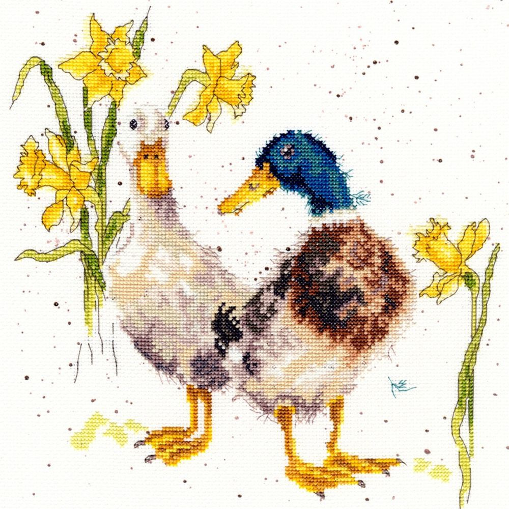 Cross Stitch Kits Luxury Bothy Threads Daffs and Ducks Counted Cross Stitch Kit Of Marvelous 49 Images Cross Stitch Kits