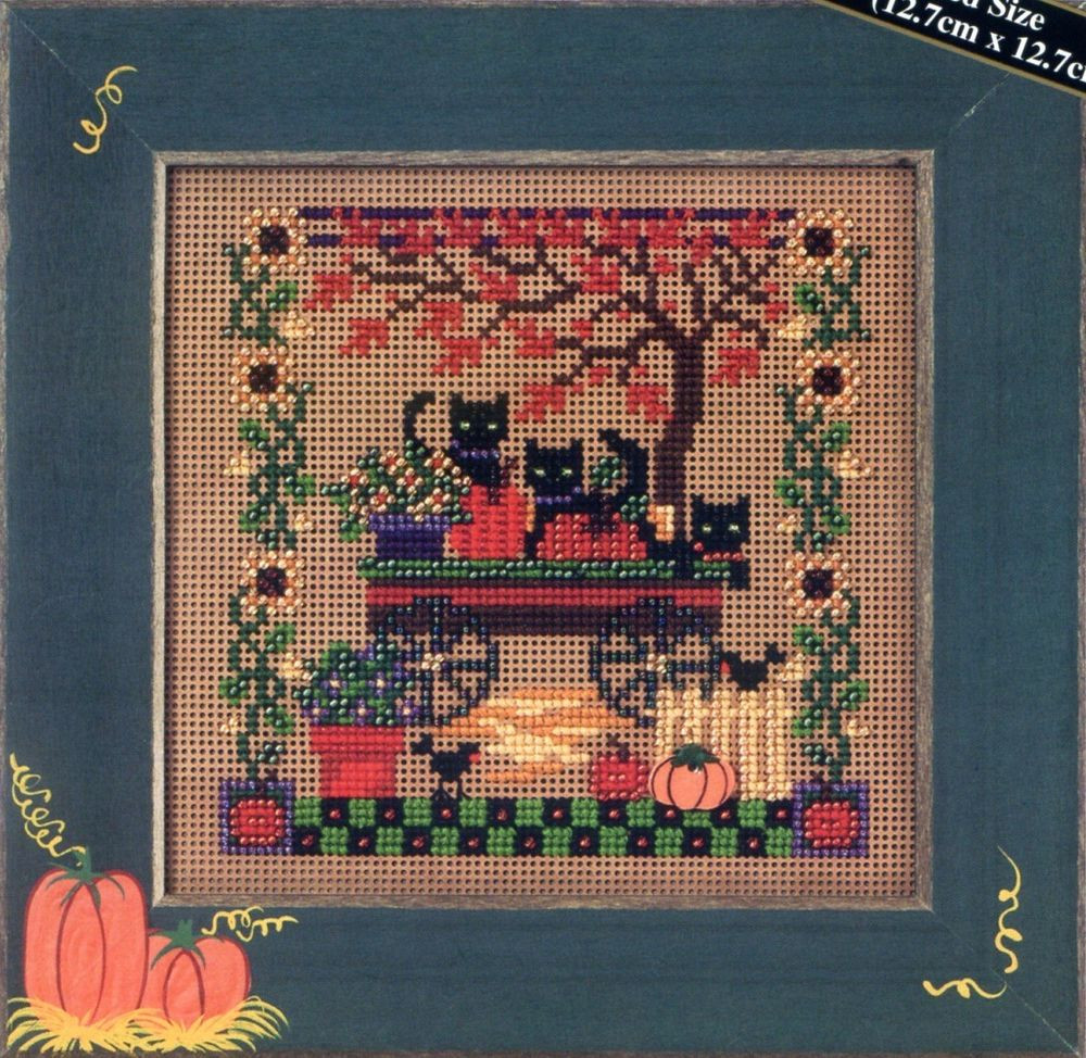 Cross Stitch Kits Unique Scaredy Cats Beaded Cross Stitch Kit Mill Hill 2005 Of Marvelous 49 Images Cross Stitch Kits