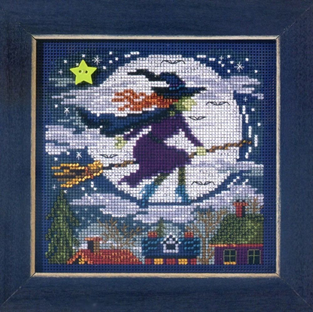 Cross Stitch Kits Unique Witch Way Cross Stitch Kit Mill Hill 2013 buttons & Beads Of Marvelous 49 Images Cross Stitch Kits