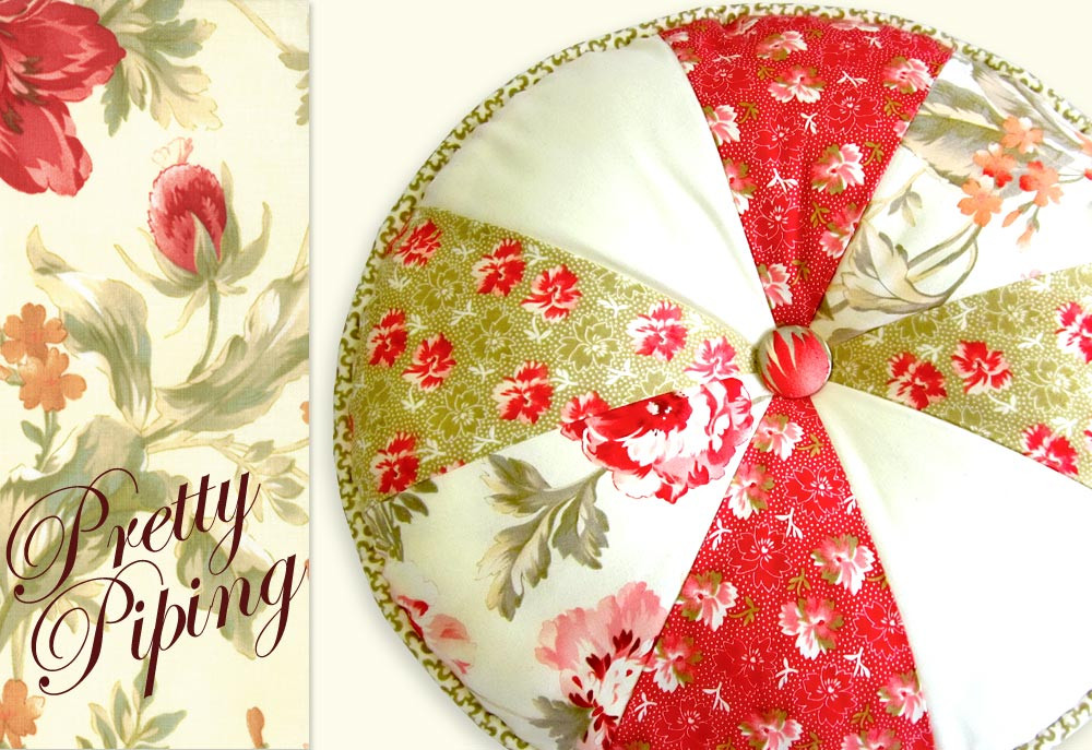 Cushion Patterns Elegant butterscotch & Rose Pretty Piped Pillow 1 Round N Of Lovely 43 Images Cushion Patterns
