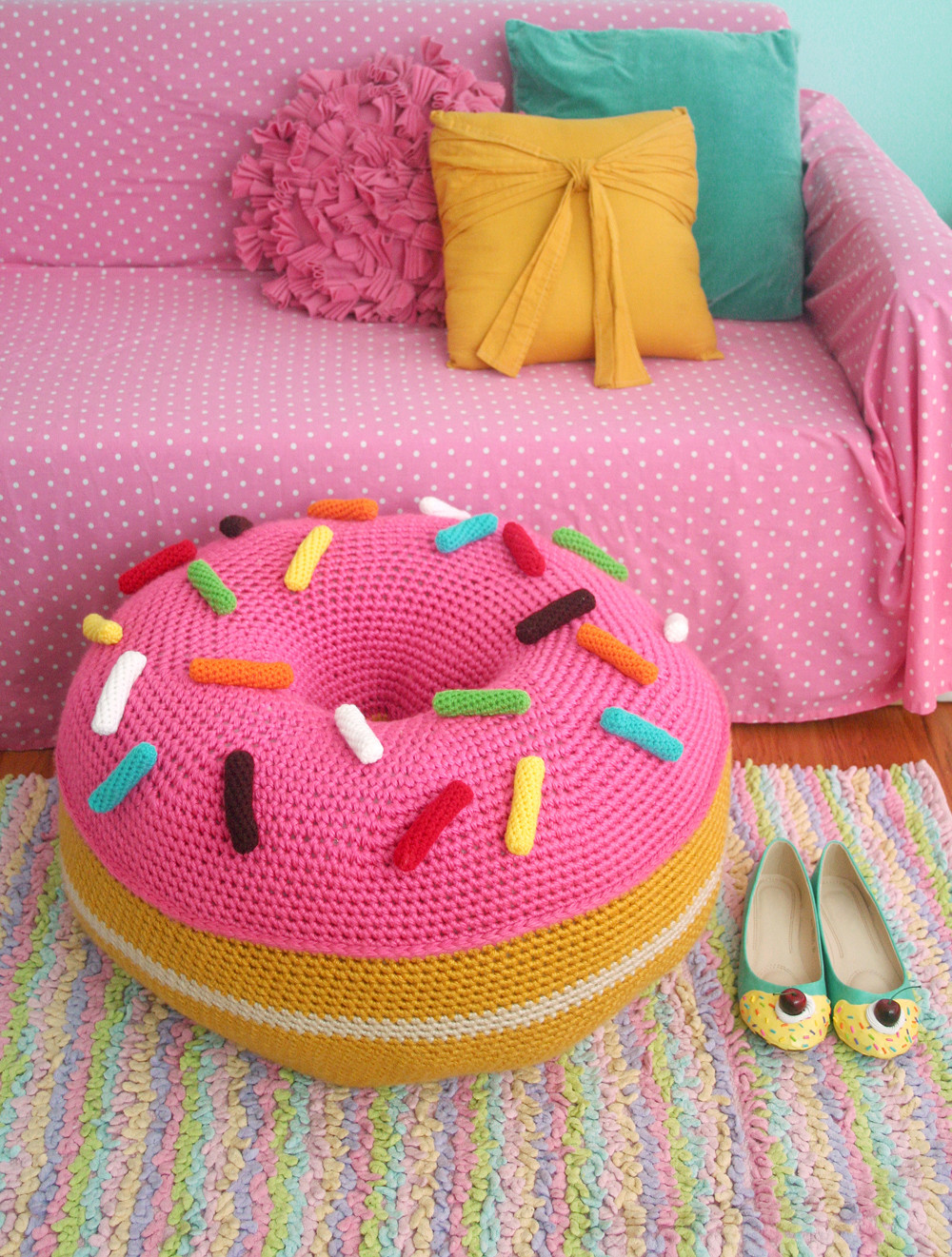 Cushion Patterns Elegant Crochet A Donut Floor Cushion From Twinkie Chan S Of Lovely 43 Images Cushion Patterns