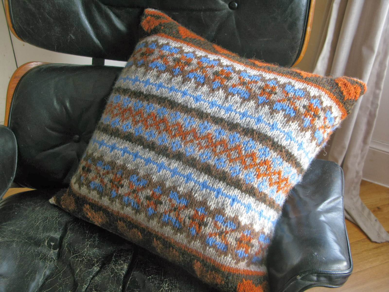 Cushion Patterns Elegant Littletheorem Chunky Fairisle Cushion Of Lovely 43 Images Cushion Patterns