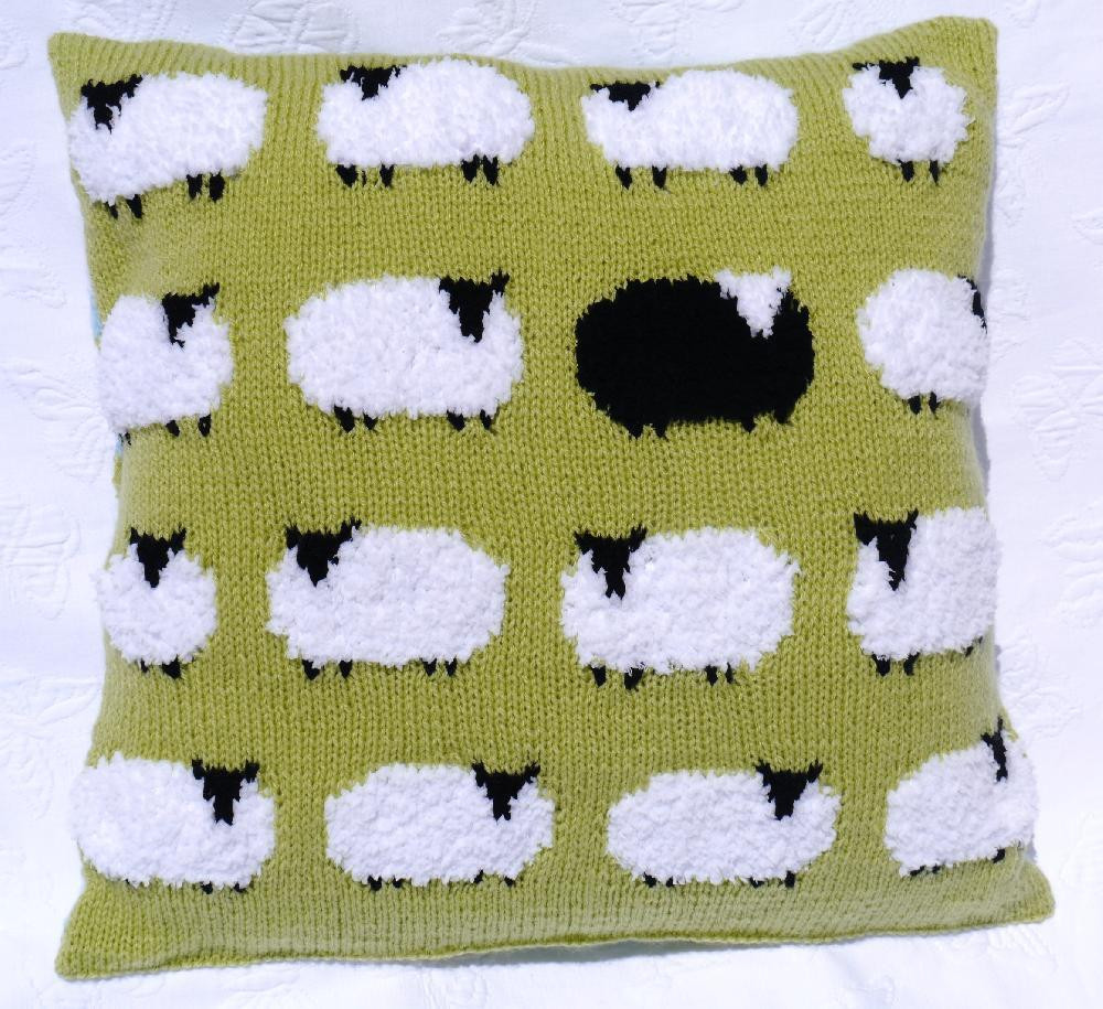 Cushion Patterns Luxury Flock Of Sheep Cushion Knitting Pattern by Iknitdesigns Of Lovely 43 Images Cushion Patterns