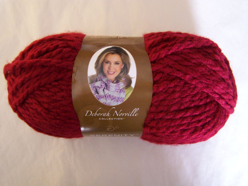Deborah norville Yarn Beautiful Deborah norville Serenity Chunky Yarn 1 Sk Sel Color Of Amazing 50 Pics Deborah norville Yarn