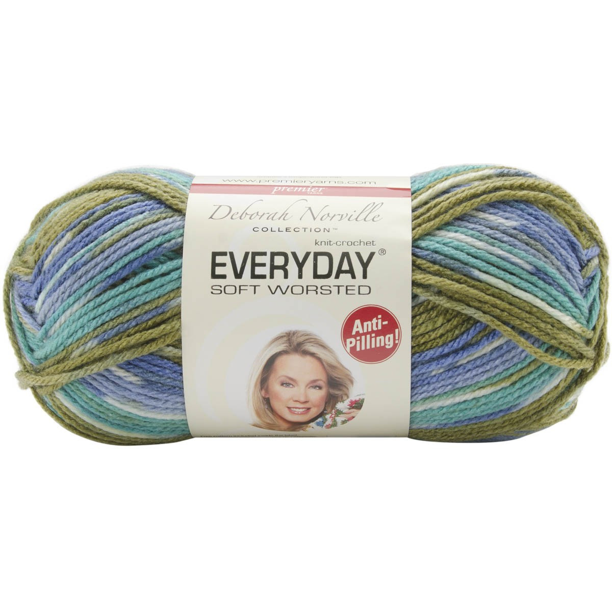 Deborah Norville Collection Everyday Solid Yarn Pack of 2
