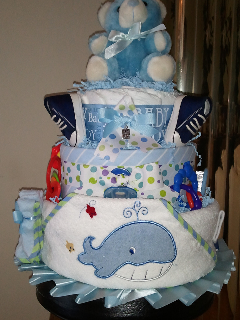Diaper Cakes for Boys Awesome 3 Tier Baby Boy Diaper Cake Baby Biz Diaper Cakes Of Brilliant 46 Photos Diaper Cakes for Boys
