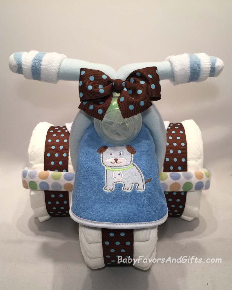 Diaper Cakes for Boys Awesome Tricycle Diaper Cake for Boy Babyfavorsandgifts Of Brilliant 46 Photos Diaper Cakes for Boys