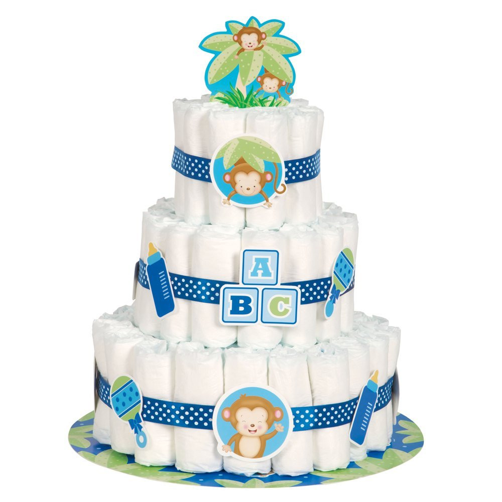 Diaper Cakes for Boys Elegant Safari Baby Shower Ideas Baby Ideas Of Brilliant 46 Photos Diaper Cakes for Boys