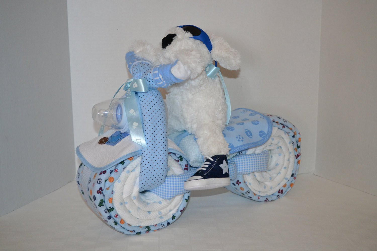 Diaper Cakes for Boys Fresh Motorcycle Bike Diaper Cake Baby Shower Gift Centerpiece Of Brilliant 46 Photos Diaper Cakes for Boys