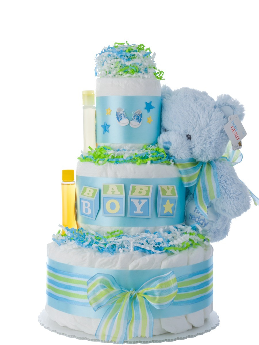 Diaper Cakes for Boys Lovely Baby Blocks Diaper Cake for Boys Of Brilliant 46 Photos Diaper Cakes for Boys