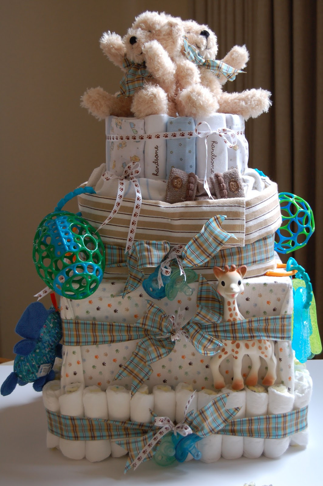 Diaper Cakes for Boys Lovely by the Way Diaper Cake for Twin Boys Of Brilliant 46 Photos Diaper Cakes for Boys