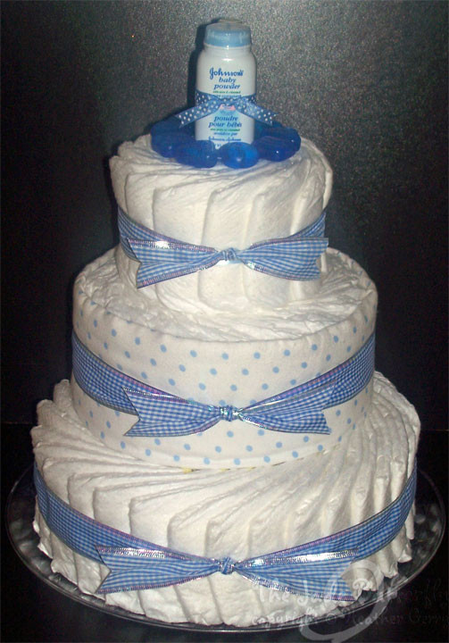 Diaper Cakes for Boys New the Jade butterfly Custom ordered Baby Boy Diaper Cake Of Brilliant 46 Photos Diaper Cakes for Boys