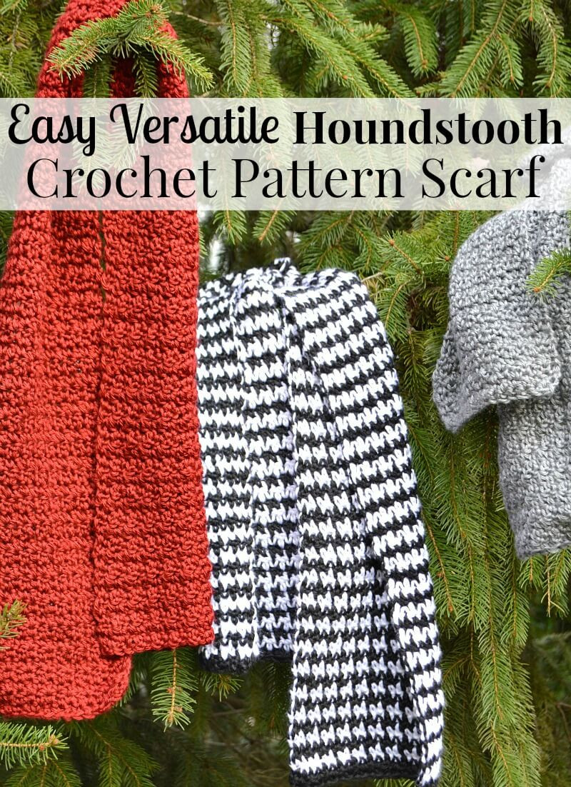 Different Crochet Patterns Best Of Easy Houndstooth Crochet Pattern Scarf organized 31 Of Brilliant 48 Pictures Different Crochet Patterns