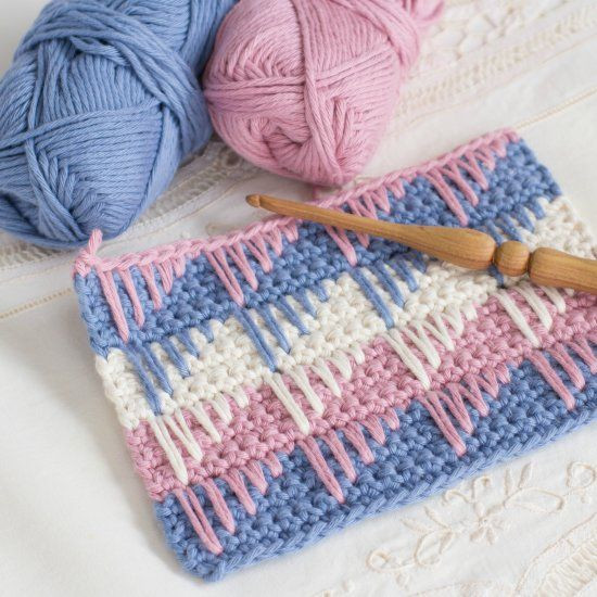 Different Crochet Stitches Awesome Learn How to Crochet the Simple yet Beautiful Spike Stitch Of Amazing 46 Images Different Crochet Stitches