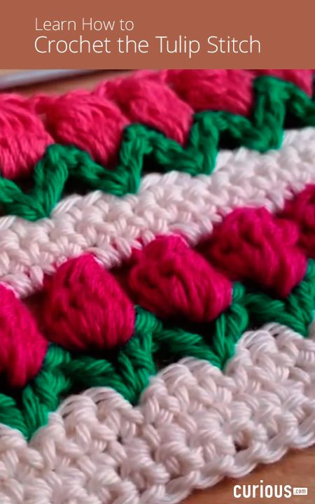 Different Crochet Stitches Best Of Learn How to Crochet the Tulip Stitch In This Lesson Using Of Amazing 46 Images Different Crochet Stitches