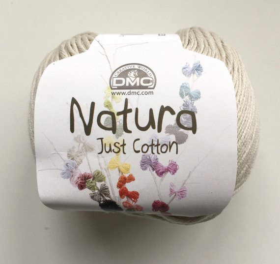 DMC Natura Just Cotton Cotton 4 Ply yarn Sable