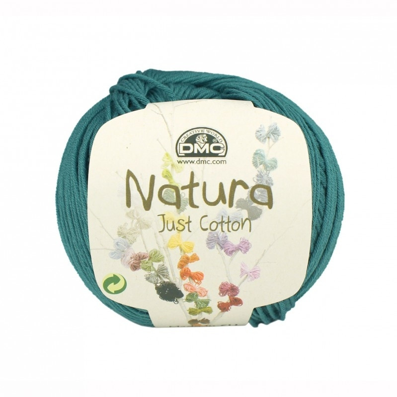 DMC Natura Just Cotton N54 Green Smoke