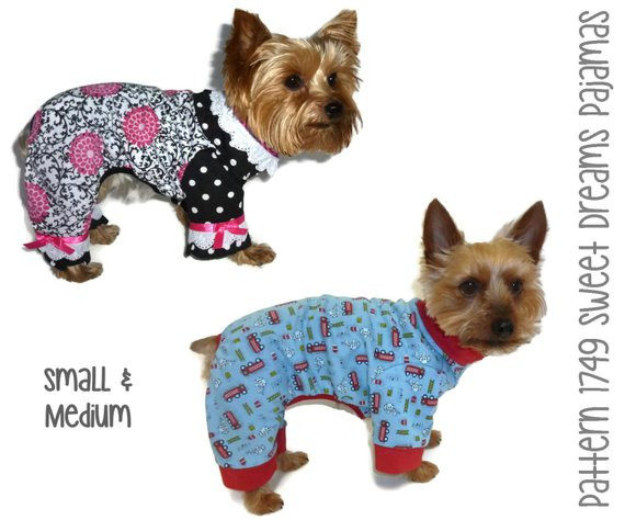 Dog Clothes Patterns Awesome Sweet Dreams Dog Pajama Pattern 1749 Small & by sofiandfriends Of Innovative 46 Pics Dog Clothes Patterns