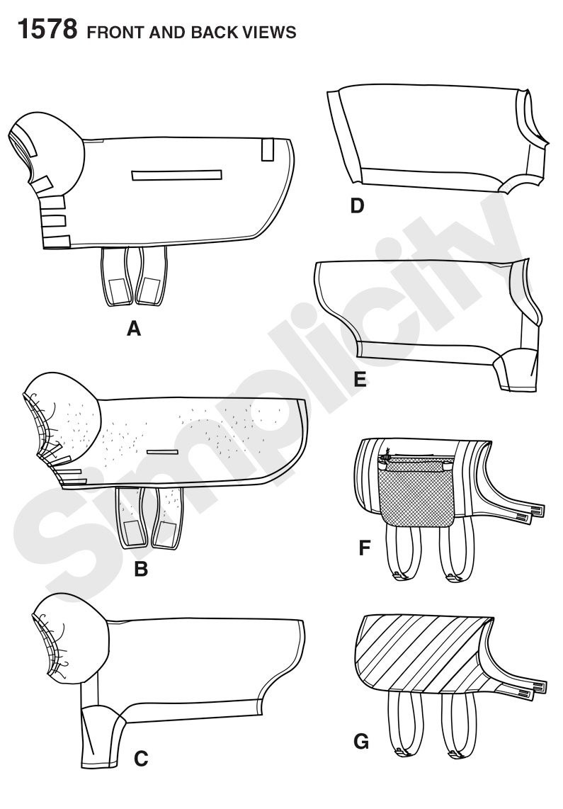Dog Clothes Patterns Best Of Simplicity 1578 Size Dog Clothes Of Innovative 46 Pics Dog Clothes Patterns