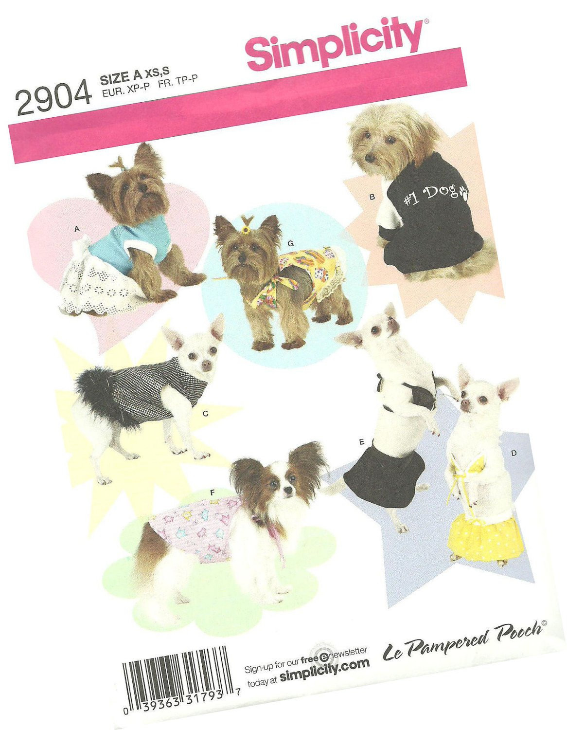 patterns for small dog clothes