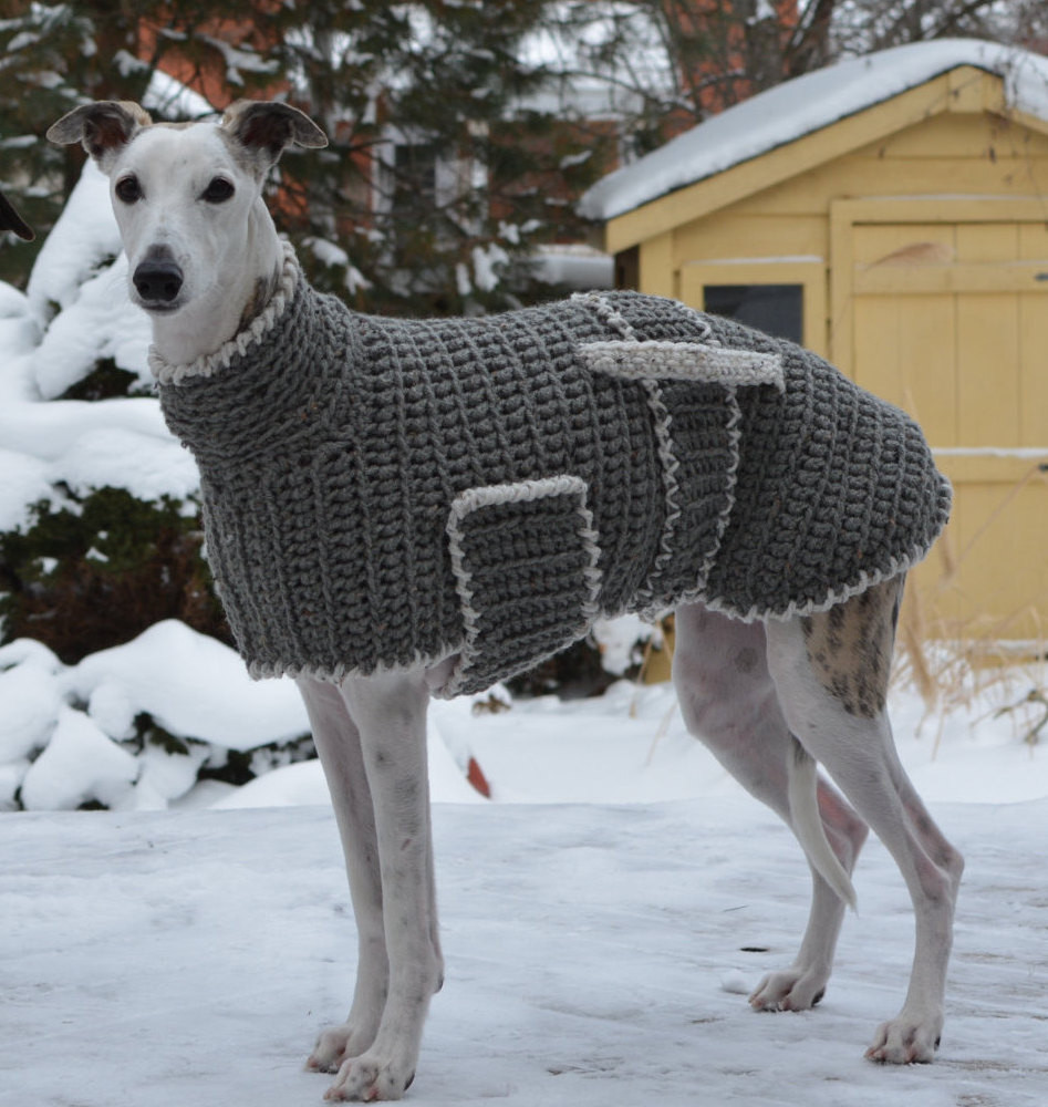 Dog Coat Pattern Elegant Greyhound Sweater Greyhound Coat Greyhound Jumper Sighthound Of Contemporary 40 Photos Dog Coat Pattern