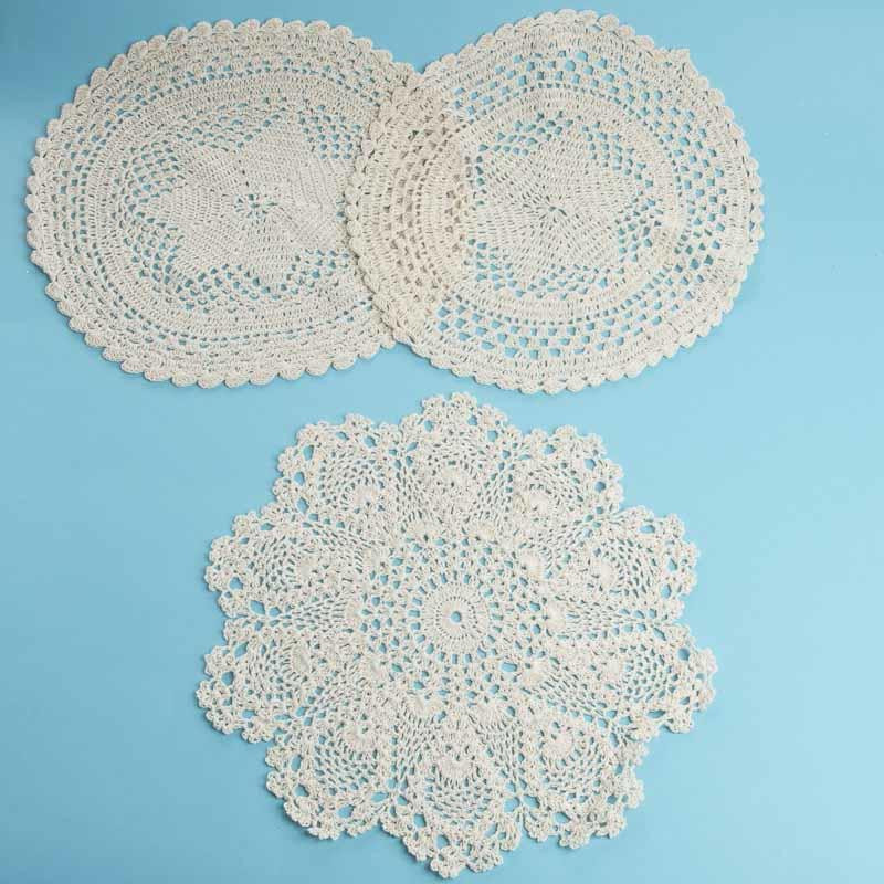 Doilies Awesome Ecru Round Crocheted Doilies Crochet and Lace Doilies Of Adorable 44 Pics Doilies
