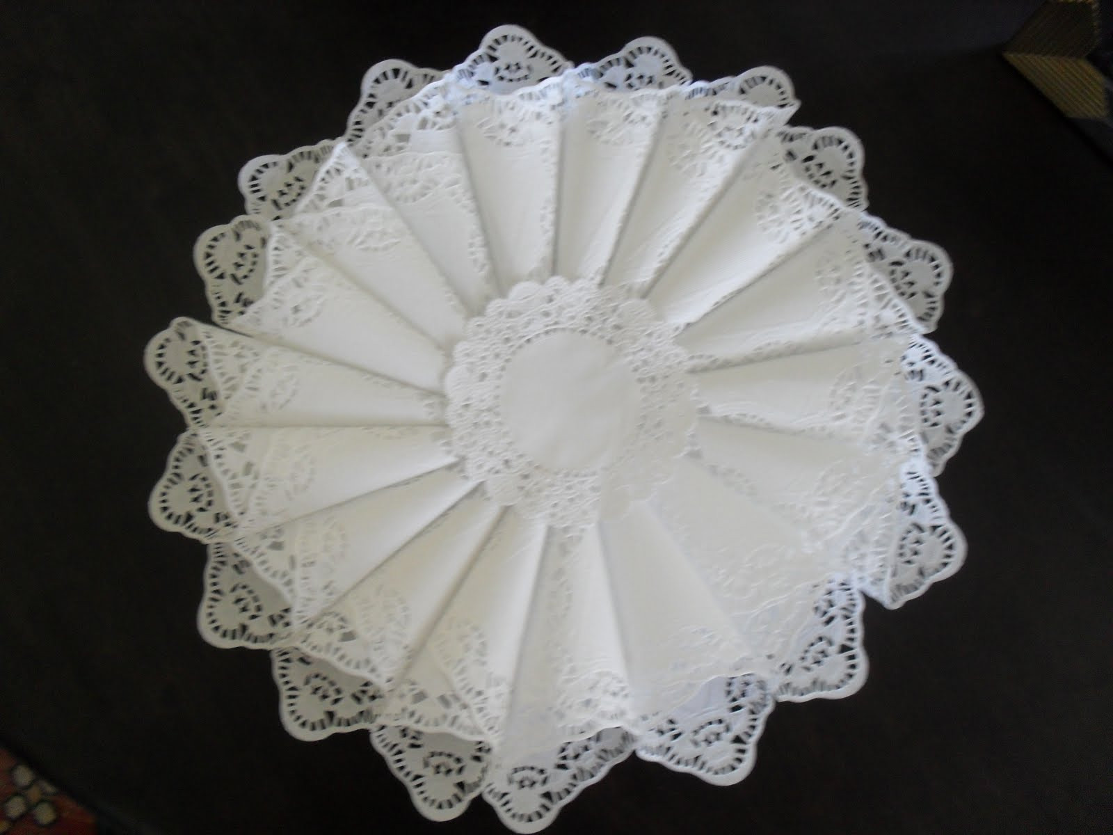 Doilies Awesome Make A Paper Doily Cone Wreath Dollar Store Crafts Of Adorable 44 Pics Doilies