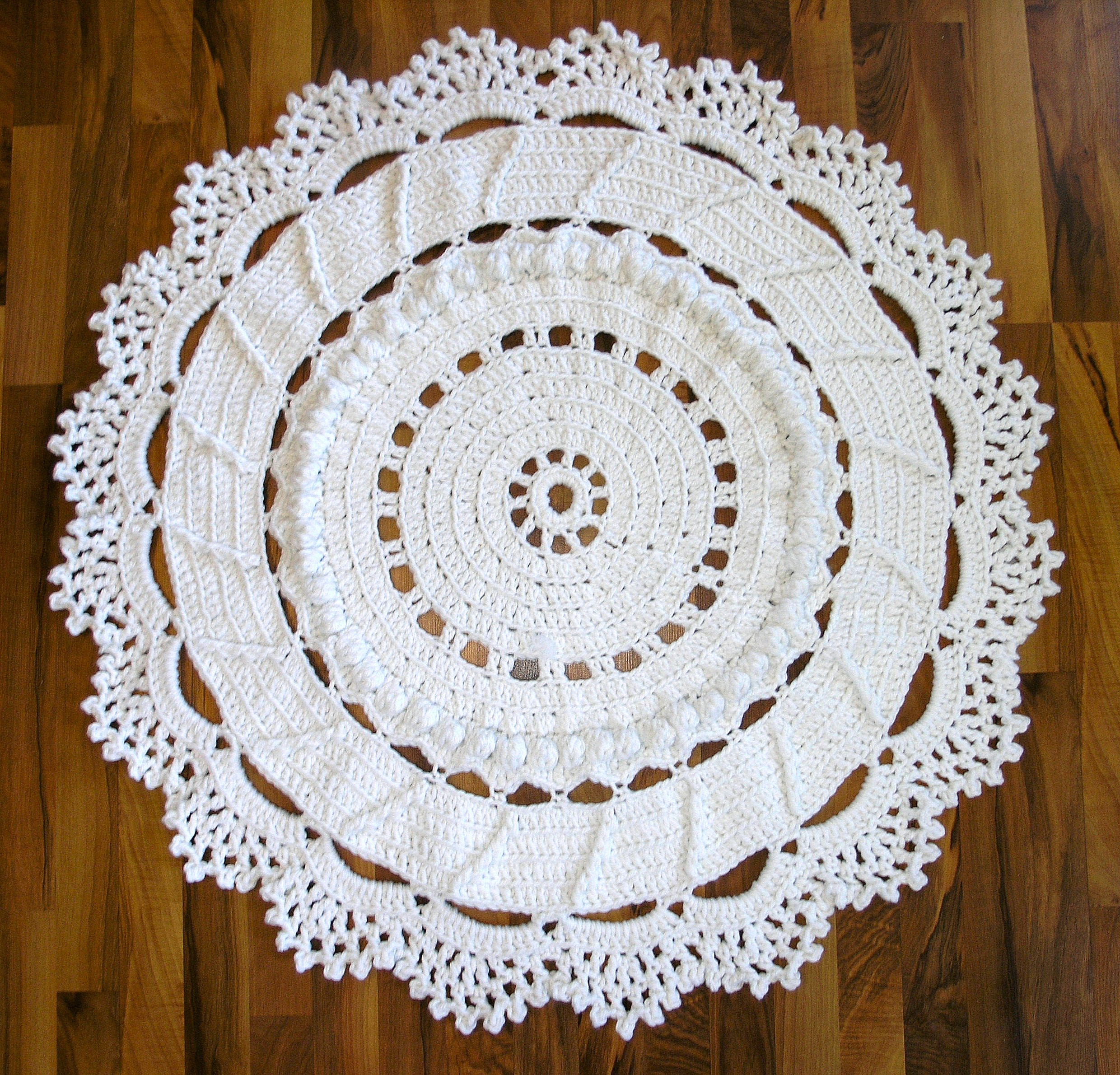 Dances With Wools Blog Archive A Giant Crochet Doily