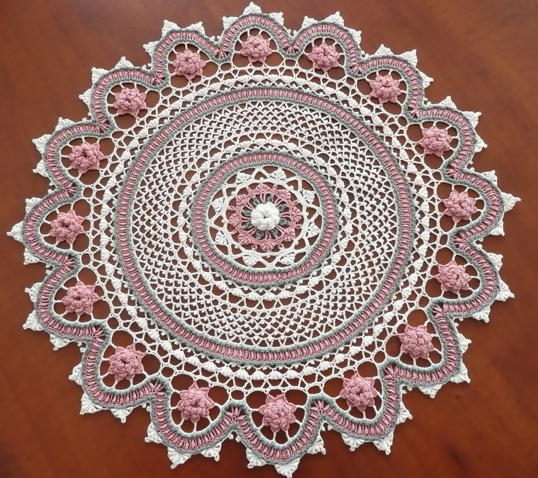 Doilies Crochet New 27 southern Rose Doily Of Luxury 46 Models Doilies Crochet