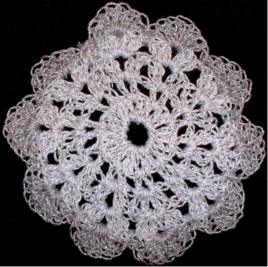 Shabby Chic Crocheted Doilies