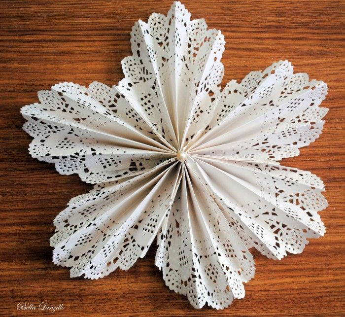 Doily Crafts Awesome Tutorial De Flor Feita Paper Doilie Ou Doily Of Contemporary 47 Photos Doily Crafts