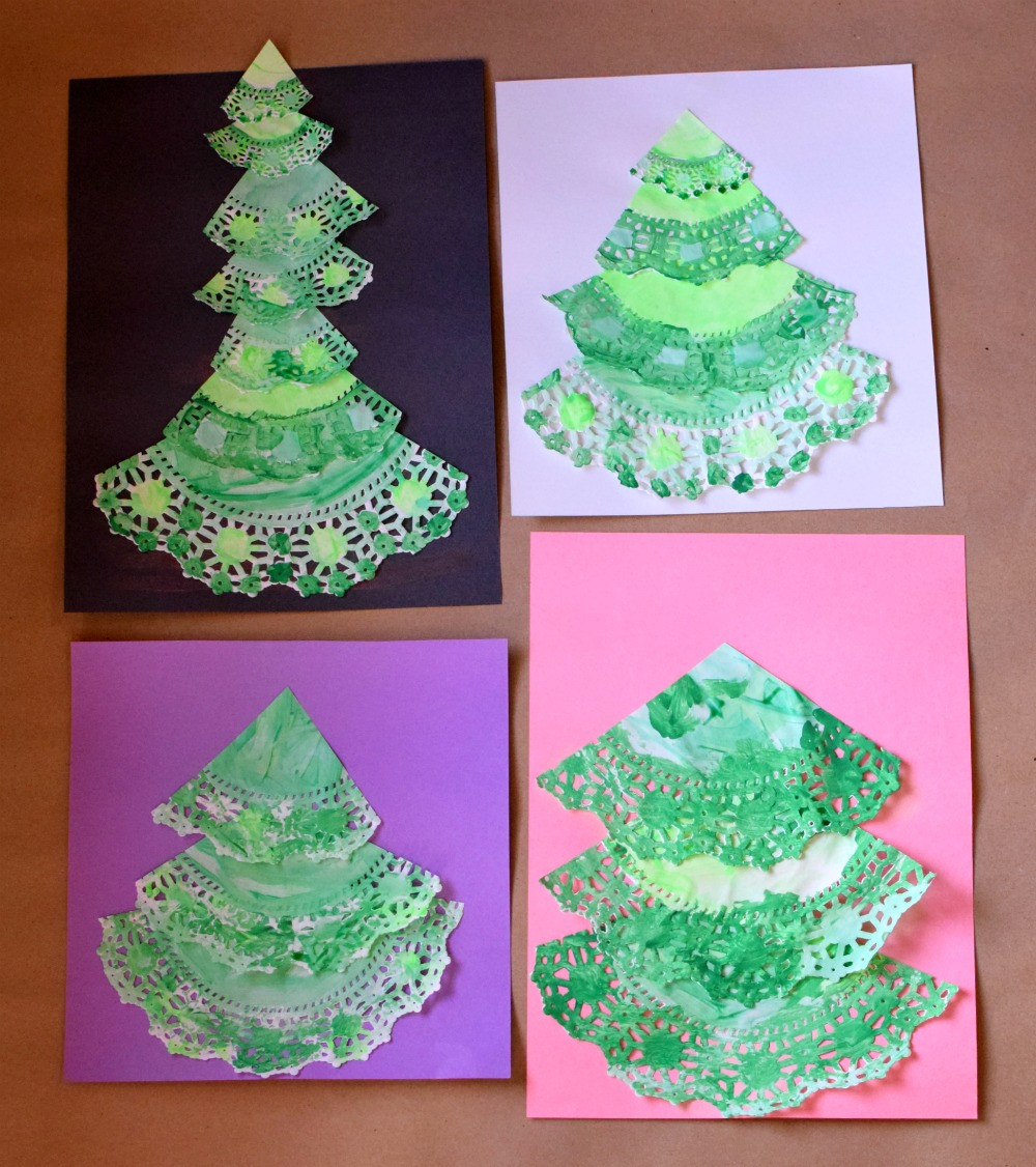 Doily Crafts Best Of Paper Doily Christmas Trees Of Contemporary 47 Photos Doily Crafts