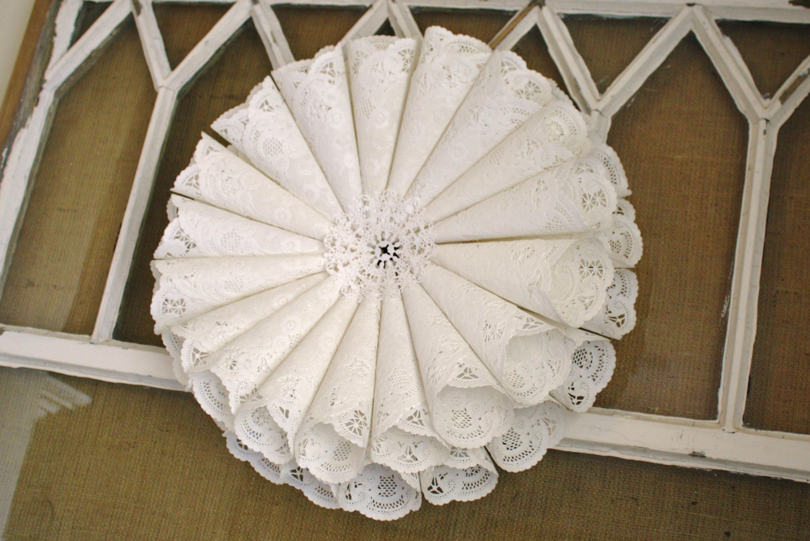 Doily Crafts Best Of Paper Doily Wreath Of Contemporary 47 Photos Doily Crafts