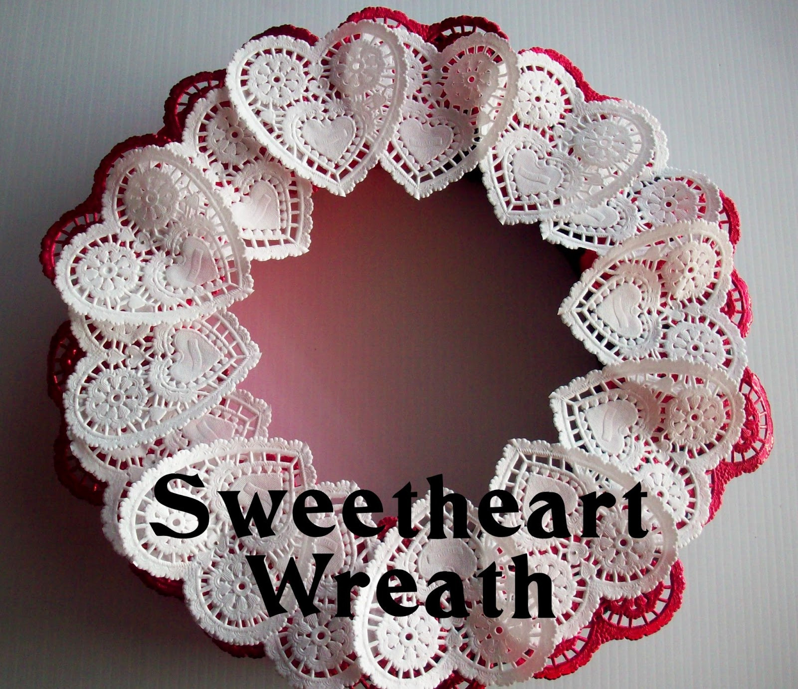 Doily Crafts Elegant Sweetheart Wreath Food Crafts and Family Of Contemporary 47 Photos Doily Crafts